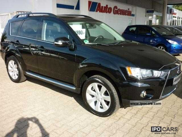 2010 Mitsubishi  Outlander Invite 2.0 Intro Edition incl towbar Off-road Vehicle/Pickup Truck Used vehicle photo