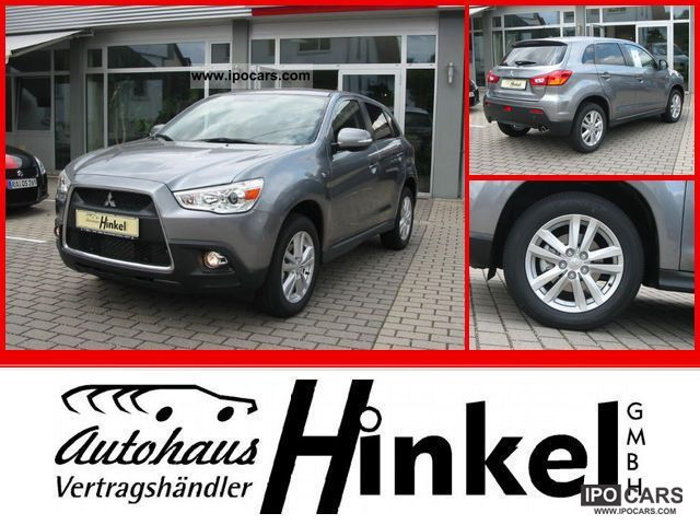 2011 Mitsubishi  ASX 1.8 DI-D-Tec Clear Edition Off-road Vehicle/Pickup Truck Demonstration Vehicle photo