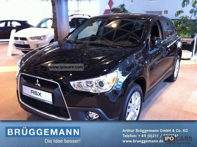 2012 Mitsubishi  ASX 1.8 DI-D Edition climate / cruise control Off-road Vehicle/Pickup Truck Demonstration Vehicle photo