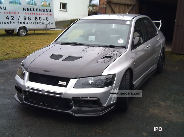 2002 Mitsubishi Lancer EVO VII  Car Photo and Specs