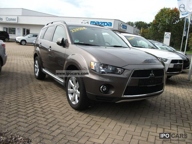 2011 mitsubishi outlander 2 2 di d 2wd cleartec edition car photo and specs. Black Bedroom Furniture Sets. Home Design Ideas