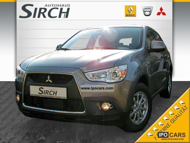 2011 Mitsubishi  ASX 1800 DI-D 4WD + Invite KLIMAAUTOMATIK Off-road Vehicle/Pickup Truck Demonstration Vehicle photo