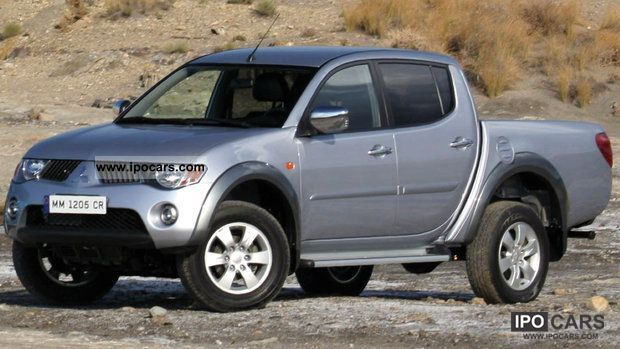 2011 mitsubishi l200 pick up 4x4 double cab inform car photo and specs. Black Bedroom Furniture Sets. Home Design Ideas