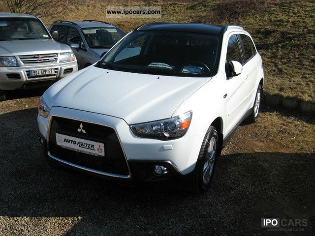 2010 mitsubishi asx 1 8 di d 2wd intense car photo and specs. Black Bedroom Furniture Sets. Home Design Ideas