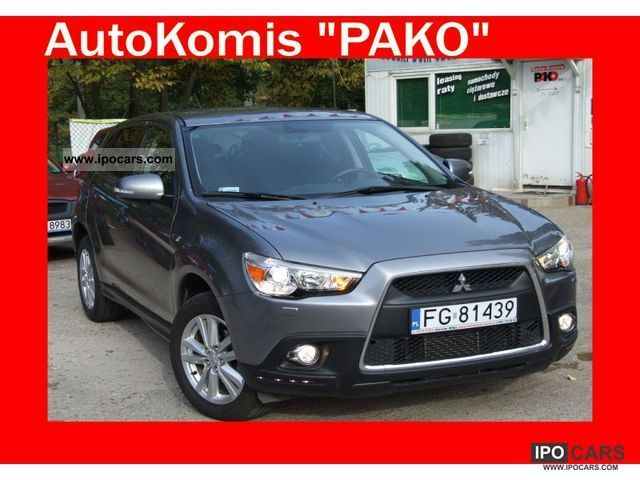 2010 Mitsubishi  ASX ASX 1.8 DID 150KM ALUSY AIR TRONIC Off-road Vehicle/Pickup Truck Used vehicle photo