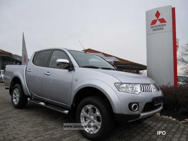 2012 Mitsubishi  L200 Double Cab Intense automatic LONG Off-road Vehicle/Pickup Truck Pre-Registration photo