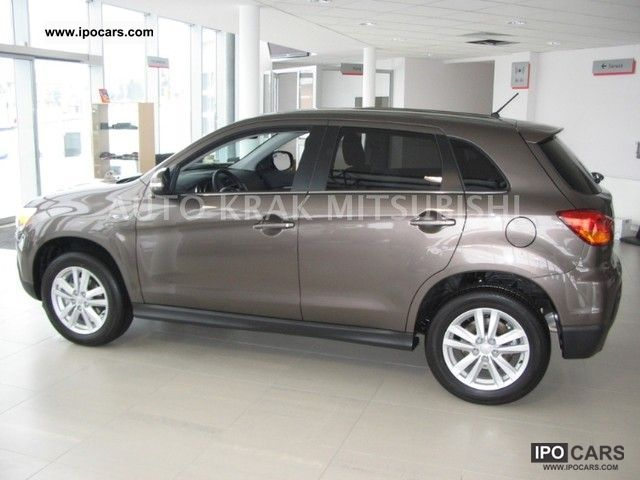 2011 mitsubishi asx intense 1 8 d id mivec 2wd 150km car photo and specs. Black Bedroom Furniture Sets. Home Design Ideas