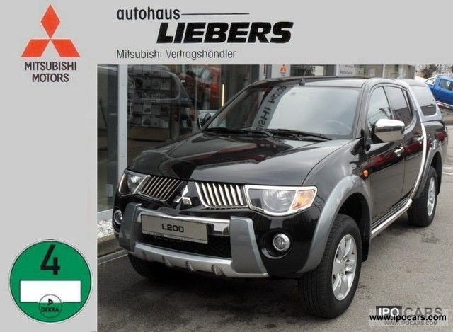 2008 Mitsubishi  30 years / many Extras/21 Tkm Off-road Vehicle/Pickup Truck Used vehicle photo