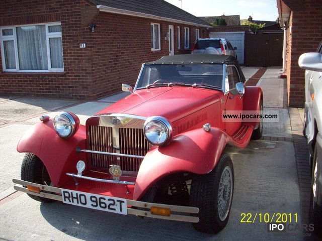 Morgan  JBA Falcon Sports 1979 Vintage, Classic and Old Cars photo