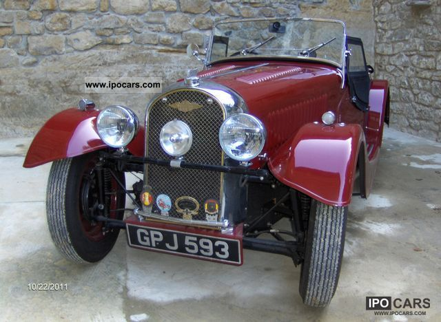 Morgan  4/4 1938 Vintage, Classic and Old Cars photo