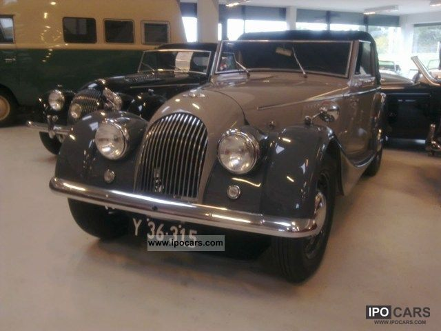 Morgan  Plus 4 Drophead Coupé 2.0 1957 Vintage, Classic and Old Cars photo