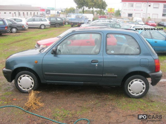 1995 nissan micra 1 0 lx holiday car photo and specs. Black Bedroom Furniture Sets. Home Design Ideas
