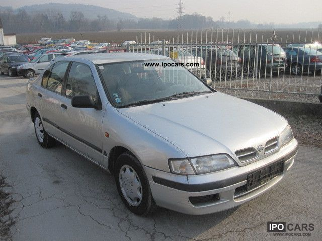 1998 Nissan  Primera 2.0 TD SLX climate Limousine Used vehicle photo