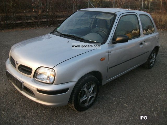 2000 nissan micra 1 0 air conditioning ahk motor u getriebe top car photo and specs. Black Bedroom Furniture Sets. Home Design Ideas