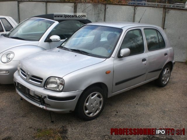 2000 nissan micra 16v cat 5 porte se automatic car photo and specs. Black Bedroom Furniture Sets. Home Design Ideas