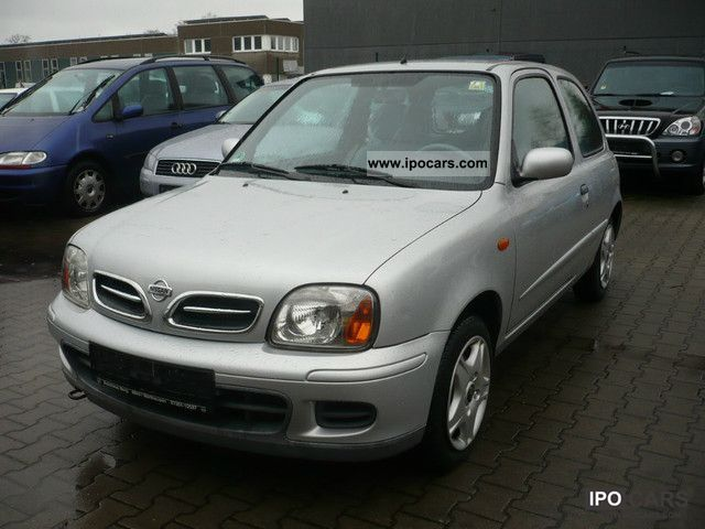 2002 nissan micra 1 4l 60kw euro 3 and d4 climate car photo and specs. Black Bedroom Furniture Sets. Home Design Ideas