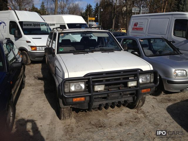 1988 Nissan  Terrano 4.2 Off-road Vehicle/Pickup Truck Used vehicle photo