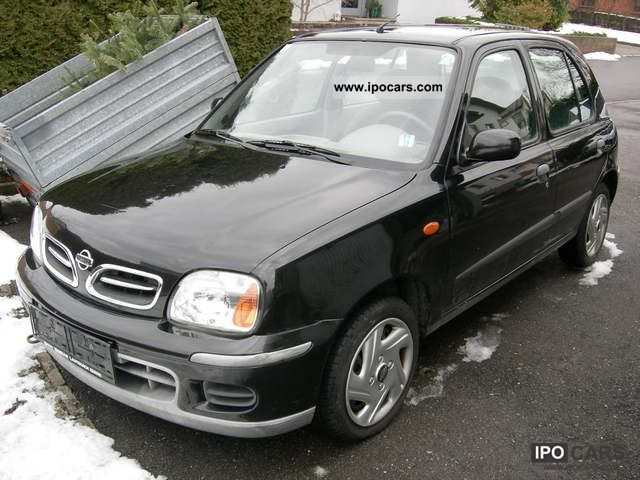 2002 nissan micra 1 5 d funky mouse car photo and specs. Black Bedroom Furniture Sets. Home Design Ideas