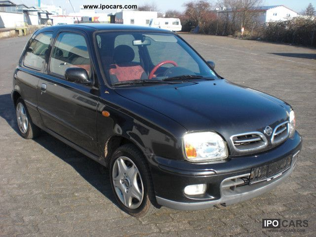 2001 nissan micra 1 4 fresh air 3 car photo and specs. Black Bedroom Furniture Sets. Home Design Ideas