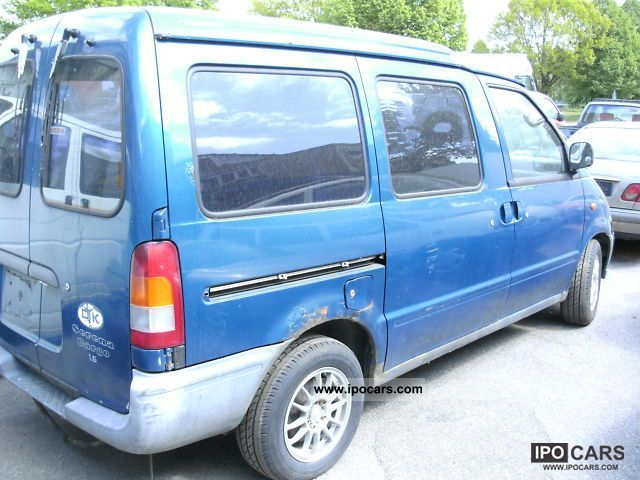1996 nissan serena cargo 1 6   car photo and specs