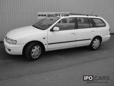 Nissan  Primera Estate 2.0 * GAS * Fuel 1999 Compressed Natural Gas Cars (CNG, methane, CH4) photo
