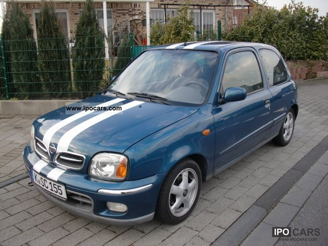 2001 nissan micra 1 4 sport car photo and specs. Black Bedroom Furniture Sets. Home Design Ideas