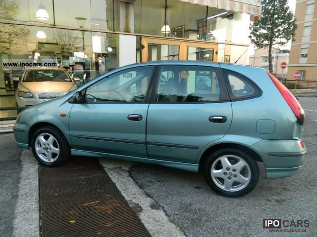 2000 Nissan Almera Almera Tino Tues Comfort - Car Photo