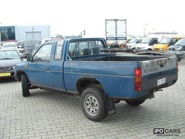 Sunny King Ford >> 1995 Nissan King Cab 4x4 1.5 CAB. 2.5TD - Car Photo and Specs