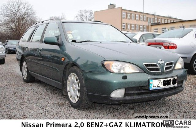 2000 Nissan  Primera 2.0 BENZ 140km. + GAZ AIR TRONIC Estate Car Used vehicle photo