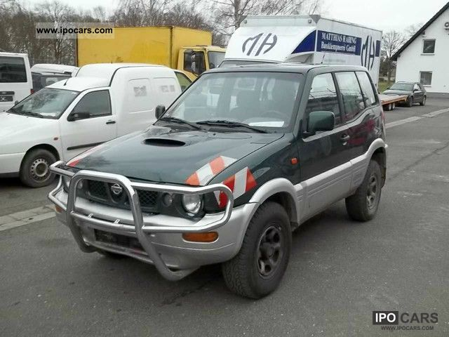 1999 nissan terrano ii 2 7 tdi 4x4 car photo and specs. Black Bedroom Furniture Sets. Home Design Ideas