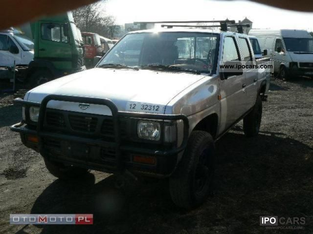 1996 Nissan King Cab 4x4 2 5 Td Off Road Vehicle Pickup