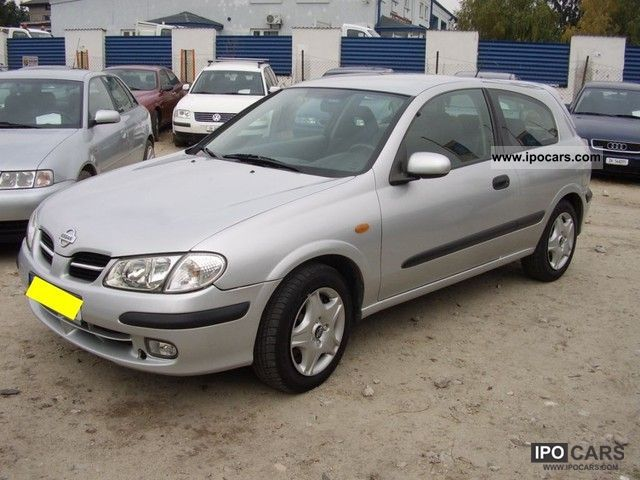 2001 nissan almera 1 8 115km zarejestrowany car photo and specs. Black Bedroom Furniture Sets. Home Design Ideas