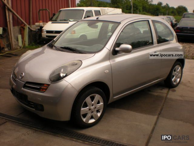 2003 nissan micra 1 4 acenta keyless go air power airbag car photo and specs. Black Bedroom Furniture Sets. Home Design Ideas