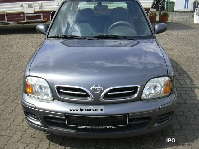 2002 nissan micra cool climate servo 4xairbag car photo and specs. Black Bedroom Furniture Sets. Home Design Ideas