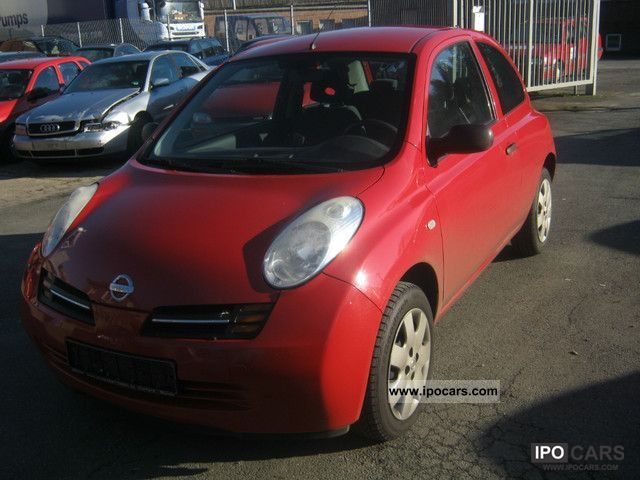 2004 Nissan  Micra 1.5 dCi Acenta Small Car Used vehicle photo