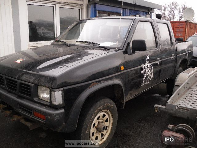 1993 Nissan  Navara King Cab Pick Up Off-road Vehicle/Pickup Truck Used vehicle photo