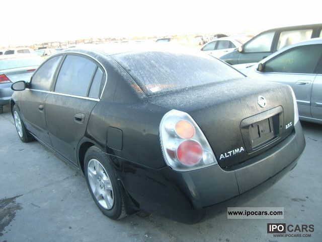 2003 Nissan Altima Car Photo And Specs