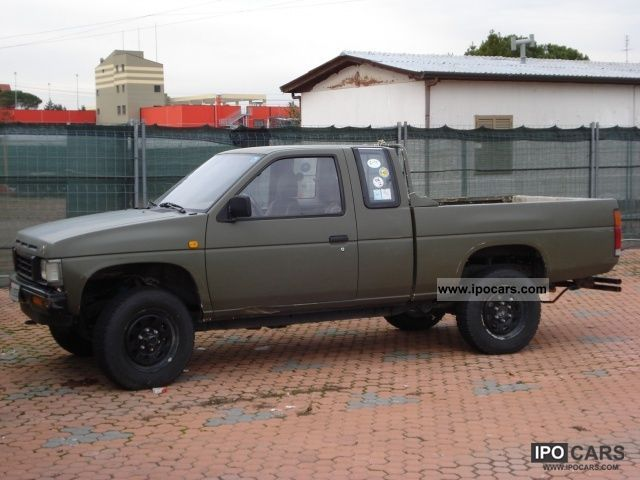 1988 Nissan King Cab Pick Up - Car Photo and Specs