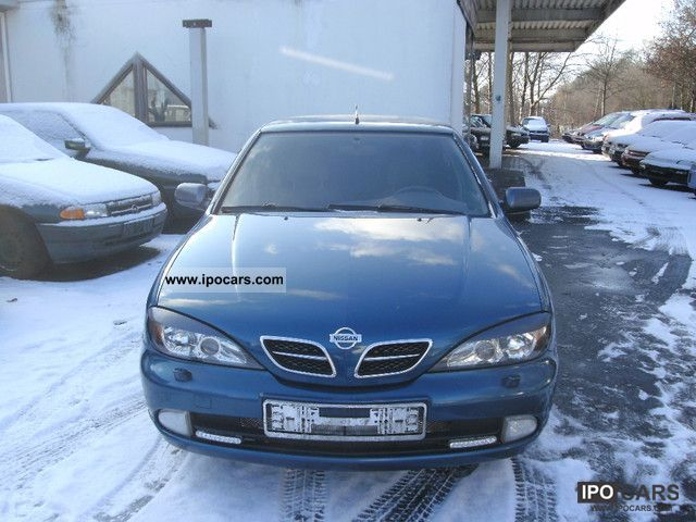 2002 nissan primera 1 6 comfort car photo and specs. Black Bedroom Furniture Sets. Home Design Ideas