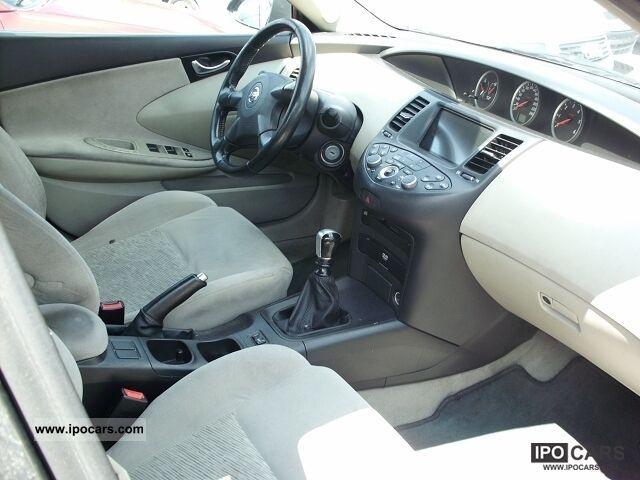 2002 Nissan Primera 22 dCi  Car Photo and Specs