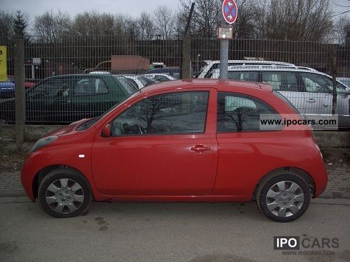 2005 nissan micra 1 2 city car photo and specs. Black Bedroom Furniture Sets. Home Design Ideas