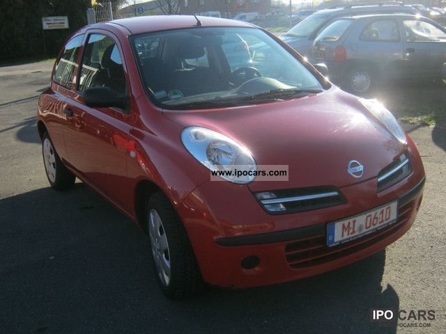 2006 nissan micra 1 5 dci acenta car photo and specs. Black Bedroom Furniture Sets. Home Design Ideas