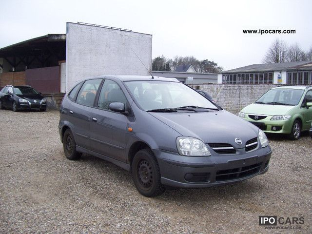 2004 Nissan  Almera Tino acenta rear view camera Van / Minibus Used vehicle photo