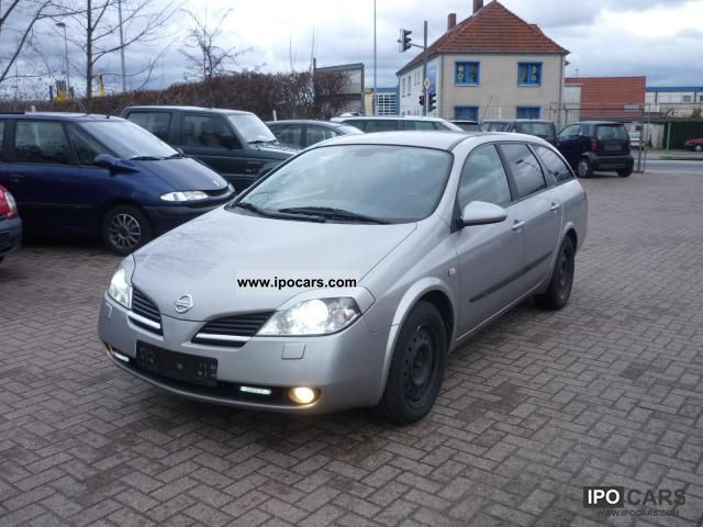 2004 Nissan  Primera Traveller 2.0 visia Tüv * 02/2013 * Navi Estate Car Used vehicle photo