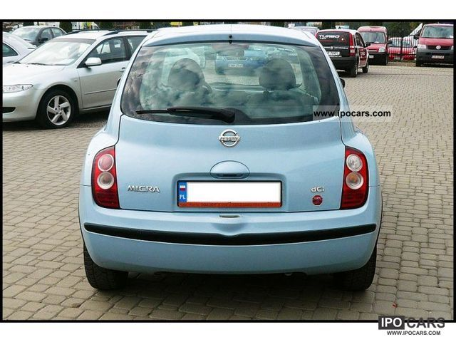 2005 nissan micra dci air 5 diesel drzwi car photo and specs. Black Bedroom Furniture Sets. Home Design Ideas