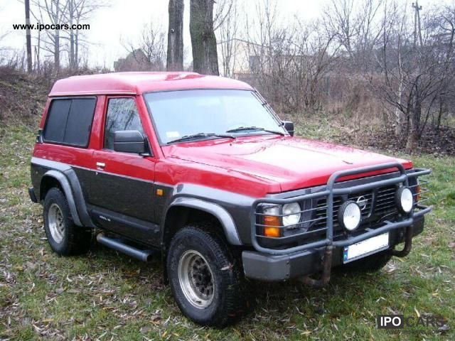1993 Nissan Patrol Gr 2 8 Td Car Photo And Specs