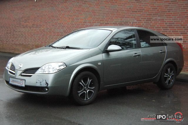2005 nissan primera 1 9 dci edition klimaaut shz 2hd euro3 car photo and specs. Black Bedroom Furniture Sets. Home Design Ideas
