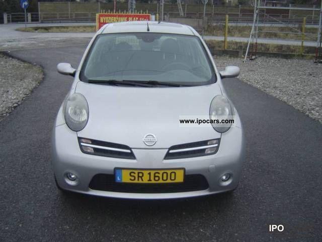 2005 Nissan  Micra 1.6 SR Jedyna Taka w Polsce Small Car Used vehicle photo
