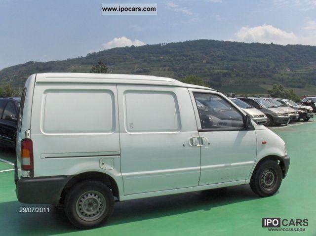 2002 nissan cargo vanette 2 3 diesel cat furg pl car. Black Bedroom Furniture Sets. Home Design Ideas