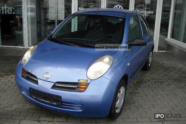 2004 Nissan  2.1 Air, Servo, ZV, 1.Hand, ABS, Immobilizer system Small Car Used vehicle photo